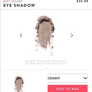 Bobbi Brown eyeshadow (cement).